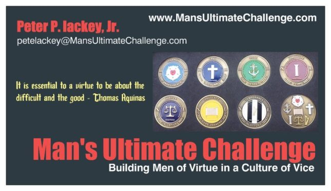 Mans Ultimate Challenge Card