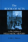 colin hemer Book of Acts